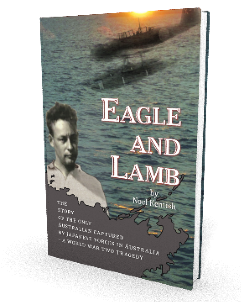 EAGLE AND LAMB 3D Book Cover Render